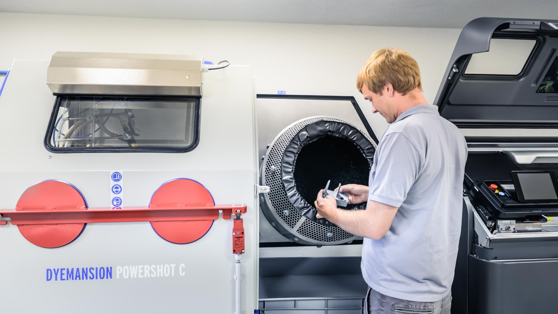 Die Gehäuse für unsere Produkte der mobilen Automation werden vor Ort gedruckt