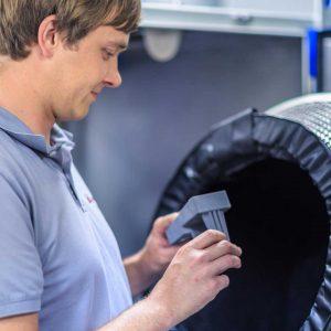 IBL Hydronic produziert die Gehäuse für die Anwendungen mobiler Automation selbst mit 3D Drucker